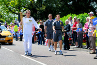 Olympic torch bearer
